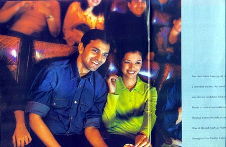 Blue star ad campaign , India